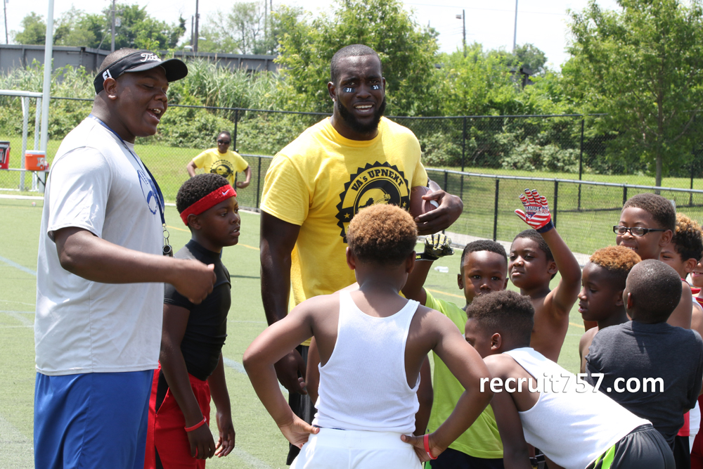 Youth Camp - Kam Chancellor