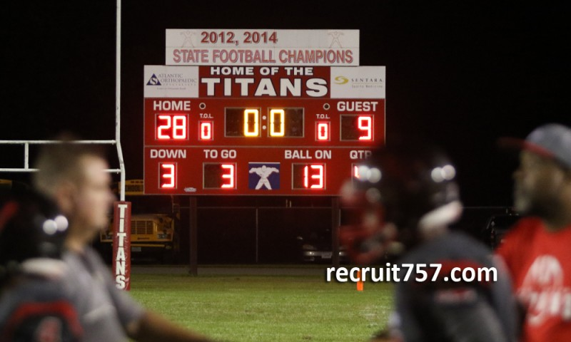 757 Friday Night Scoreboard