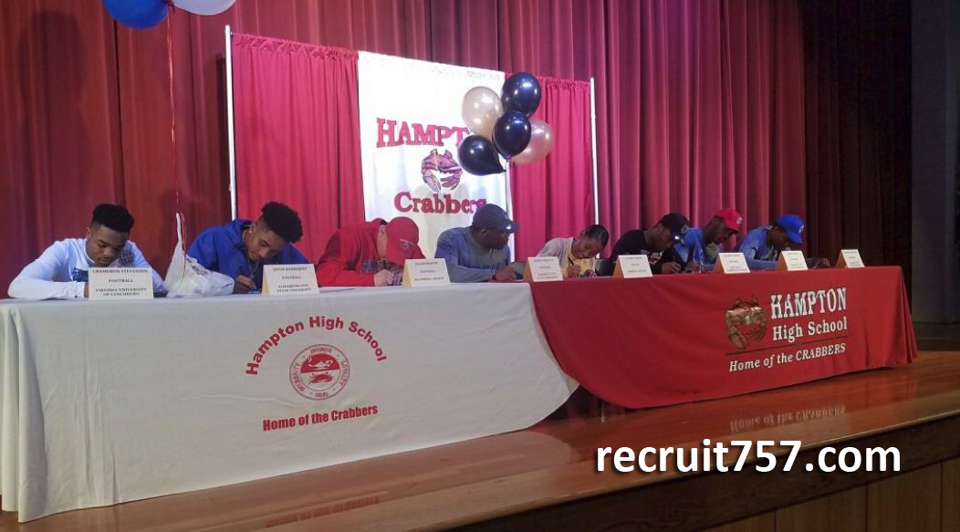 National Signing Day - Hampton Crabbers