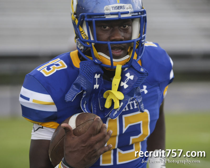 Oscar Smith Rb Deangelo White Commits To Odu Ultimate Recruit