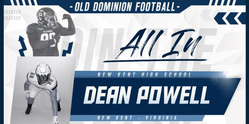 Dean Powell - ODU - New Kent