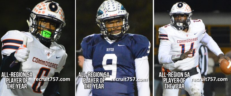 All-Region 5A - Alvonte Lawton - Ahshawn Moore - Sheridan Jones