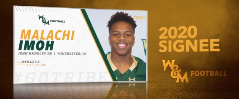 Malachi Imoh - William and Mary - W&M