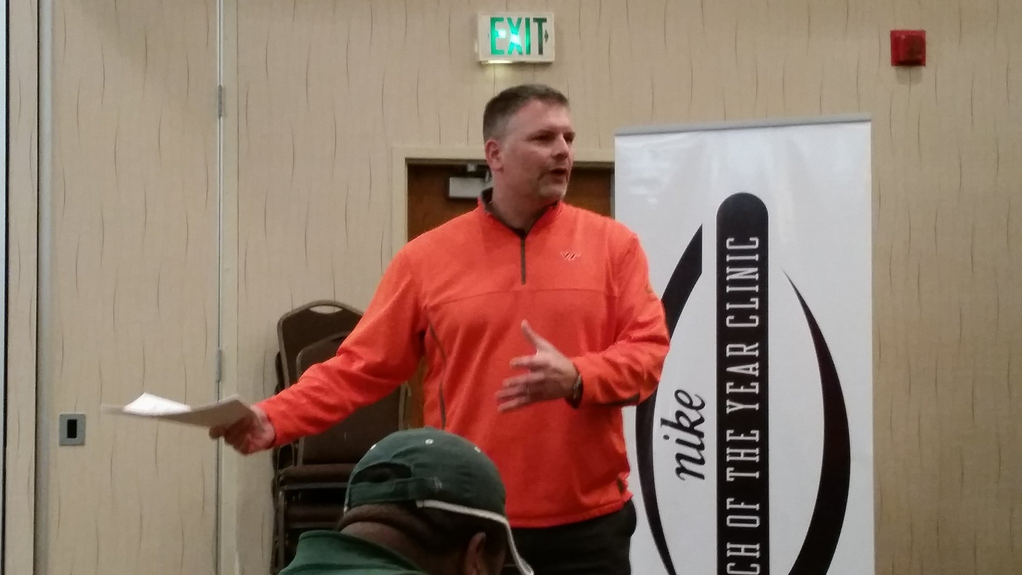 Nike Coaches Clinic - Justin Fuente - Virginia Tech