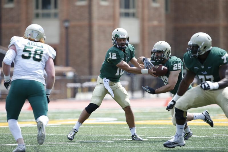 Shon Mitchell - W&M Spring Game - William and Mary - JMU
