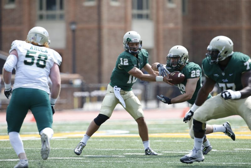 W&M Spring Game - Shon Mitchell - William and Mary