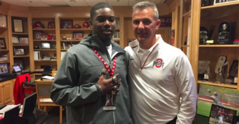 K'Vaughan Pope - Urban Meyer