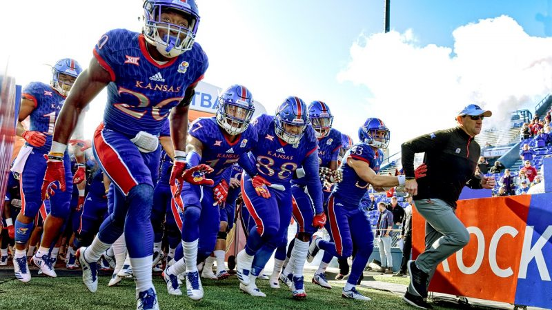 Kansas Football - Brian Lipscomb