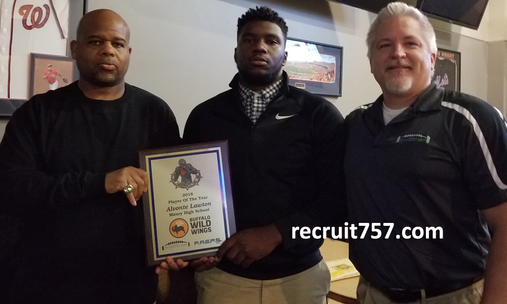 Alvonte Lawton - Maury - Player of the Year