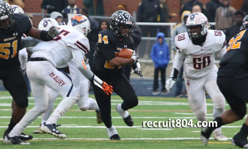 Highland Springs - Maury - Rayquan Smith
