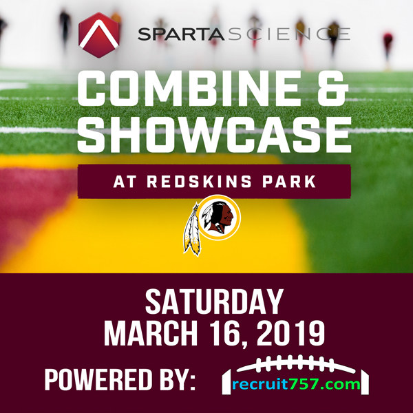 Combine - Showcase - Sparta Science - Washington Redskins
