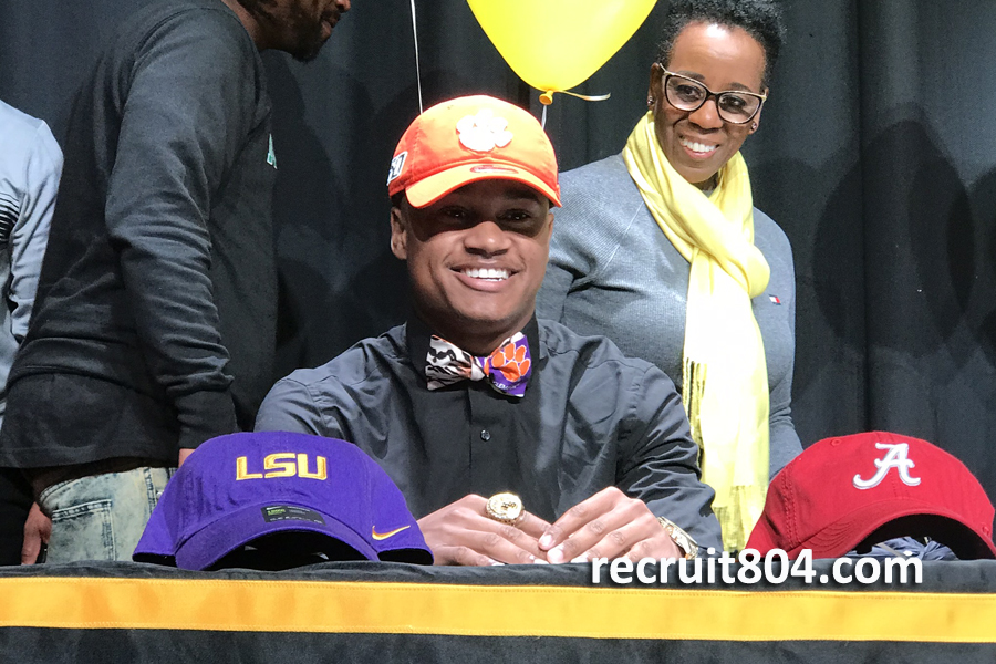 Malcolm Greene - Clemson - Highland Springs