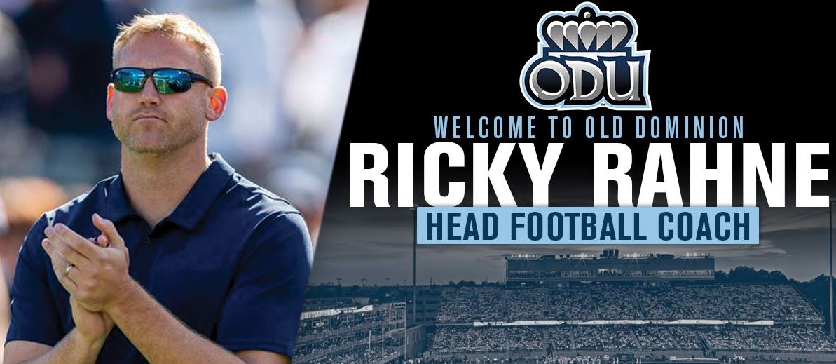 Ricky Rahne - Old Dominion