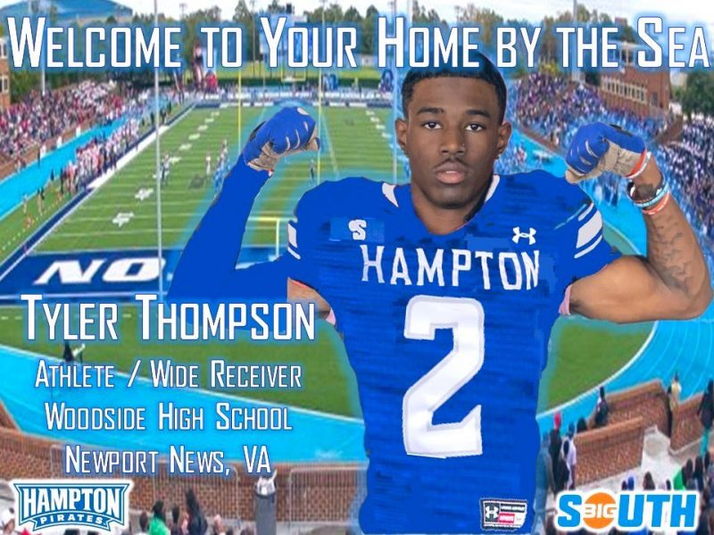 Hampton University - Tyler Thompson