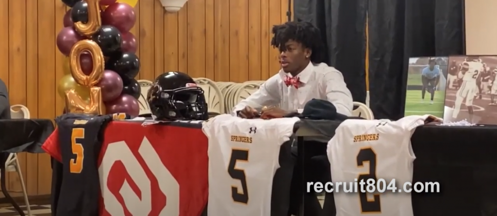 Signing Day - Highland Springs